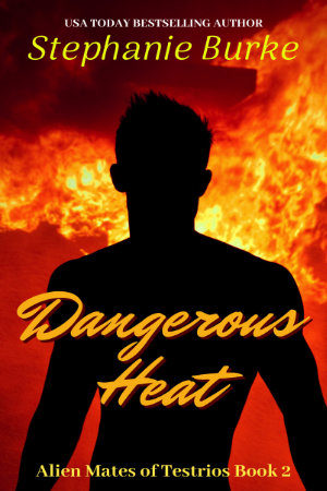 Cover - Dangerous Heat (Alien Mates of Testrios Book 2)